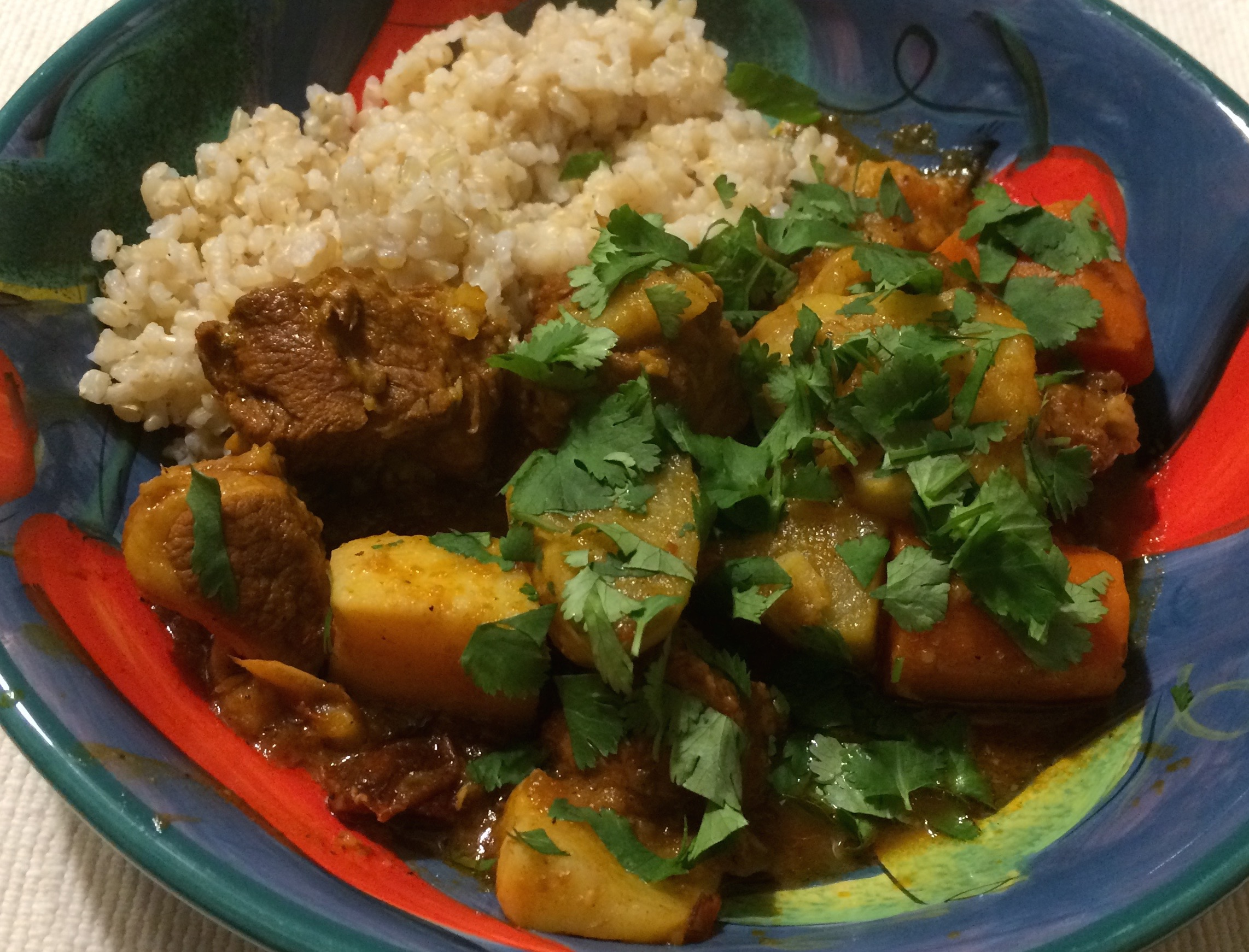 javelina stew, Yucatan style traditional Mexican recipe